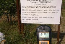 Radioattività anomala a Ferrandina nei pressi della cava Falbit