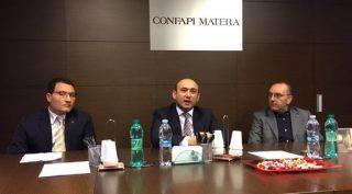 Petrocelli alla Confapi con l'ambasciatore azero - fonte ambasciata Azerbaijan